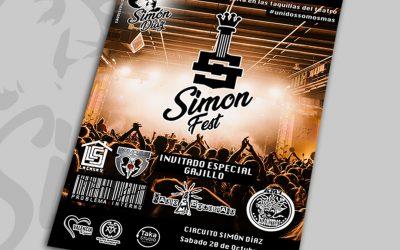 poster Simon fest