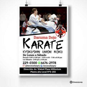 Poster Karate